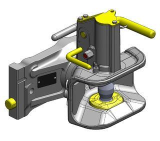 Zugmaul Automatisch W330 Bolzen 38 / D-Wert 92.0