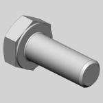 ISK-Schraube M20x50 8.8 vz DIN 7984